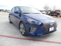 This 2019 Hyundai Ioniq Hybrid Limited is proudly