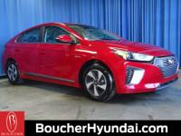 Recent Arrival!   * This Scarlet Red 2019 Hyundai Ioniq