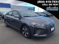 2019 Hyundai Ioniq Hybrid SEL 55/54 City/Highway MPG
