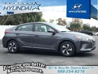 Gray 2019 Hyundai Ioniq Hybrid SEL FWD 6-Speed EcoShift
