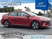 Red 2019 Hyundai Ioniq Hybrid SEL FWD 6-Speed EcoShift