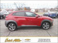 2019 Hyundai Kona Limited 26/29 City/Highway MPG