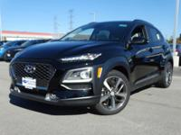 Ultra Black 2019 Hyundai Kona Limited FWD 7-Speed