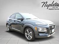 Thunder Gray 2019 Hyundai Kona Limited FWD 7-Speed