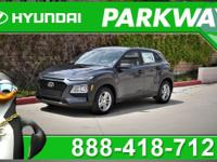 2019 Hyundai Kona SE Thunder Gray 27/33 City/Highway