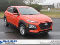 Sunset Orange 2019 Hyundai Kona SE FWD Automatic 2.0L
