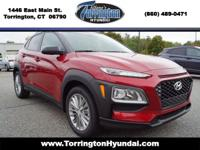 Pulse Red 2019 Hyundai Kona Automatic Recent Arrival!