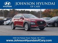 2019 Hyundai Kona SEL Pulse Red Automatic FWD 2.0L