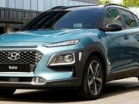 Black 2019 Hyundai Kona SEL FWD 6-Speed Automatic with