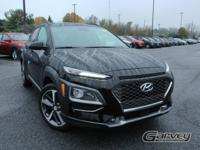New 2019 Hyundai Kona Ultimate! This vehicle has a 1.6L