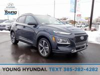 Thunder Gray 2019 Hyundai Kona Ultimate AWD 7-Speed