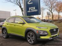 2019 Hyundai Kona Ultimate AWD 7-Speed Automatic 1.6L