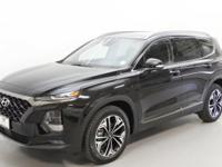 Black 2019 Hyundai Santa Fe Limited 2.0T AWD 8-Speed