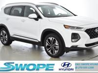 Recent Arrival! This 2019 Hyundai Santa Fe Limited 2.0T