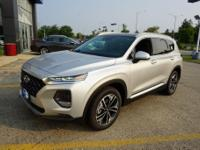 Silver 2019 Hyundai Santa Fe Limited 2.0T AWD 8-Speed