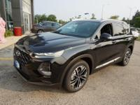 Twilight Black 2019 Hyundai Santa Fe Ultimate 2.0 AWD