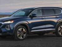 Machine Gray 2019 Hyundai Santa Fe Limited . ***New