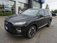 Twilight Black 2019 Hyundai Santa Fe Limited 2.0T AWD