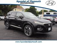 Twilight Black 2019 Hyundai Santa Fe Limited 2.0T 2.0L