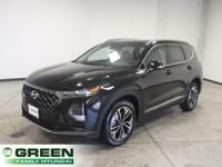 Recent Arrival! Twilight Black 2019 Hyundai Santa Fe