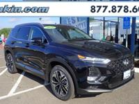 2019 Hyundai Santa Fe Ultimate 2.0 Twilight Black AWD,