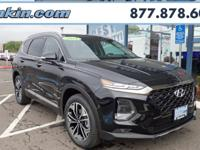 2019 Hyundai Santa Fe Limited Twilight Black AWD, Gray