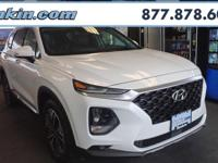 2019 Hyundai Santa Fe Limited 2.0T Quartz AWD, Black