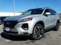 Silver 2019 Hyundai Santa Fe Ultimate 2.0 AWD 8-Speed