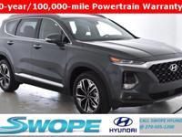 Recent Arrival! This 2019 Hyundai Santa Fe Ultimate 2.0