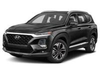 Twilight Black 2019 Hyundai Santa Fe Ultimate AWD