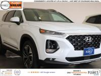 $2,503 off MSRP! Quartz 2019 Hyundai Santa Fe Limited