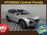 NO DEALER FEE! Silver 2019 Hyundai Santa Fe Ultimate