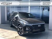 Twilight Black 2019 Hyundai Santa Fe Limited FWD