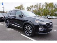 Twilight Black 2019 Hyundai Santa Fe Ultimate FWD