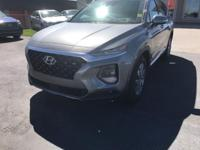 Machine Gray 2019 Hyundai Santa Fe Ultimate AWD 8-Speed