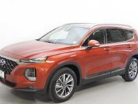 Lava Orange 2019 Hyundai Santa Fe Ultimate AWD