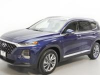 Blue 2019 Hyundai Santa Fe Limited 2.4 AWD 8-Speed