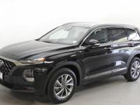 Black 2019 Hyundai Santa Fe Limited 2.4 AWD 8-Speed