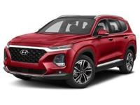 Scarlet Red 2019 Hyundai Santa Fe Limited AWD Automatic