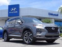 Gray 2019 Hyundai Santa Fe Limited FWD 8-Speed