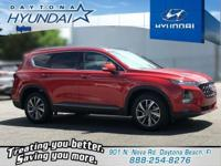 Orange 2019 Hyundai Santa Fe Ultimate 2.4 FWD 8-Speed