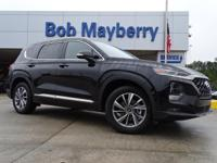 New Price! Twilight Black 2019 Hyundai Santa Fe Limited