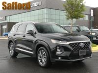 Twilight Black 2019 Hyundai Santa Fe Limited Beige