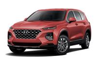 Scarlet Red 2019 Hyundai Santa Fe SE 2.4 AWD 8-Speed