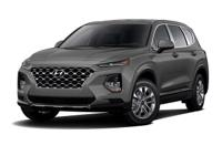 Machine Gray 2019 Hyundai Santa Fe SE 2.4 AWD 8-Speed