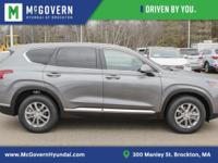 Machine Gray 2019 Hyundai Santa Fe SE AWD Automatic