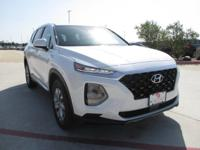 This outstanding example of a 2019 Hyundai Santa Fe SE