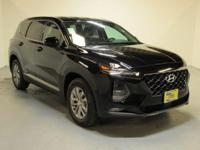 Black 2019 Hyundai Santa Fe SEL 2.4 AWD 8-Speed