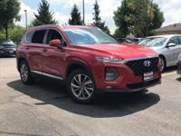 This outstanding example of a 2019 Hyundai Santa Fe SEL