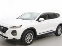 White 2019 Hyundai Santa Fe SEL 2.4 AWD 8-Speed